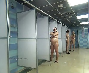Public shower rooms hidden webcam