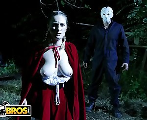 BANGBROS - Ch-ch-check Out This Special Halloween Episode Featuring Kara Lee and J-Mac