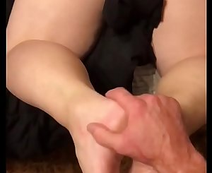 SEXY BLONDE WIFE BEGS FOR DADDYS Geyser IN HER LITTLE ASSHOLE