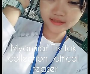 Myanmar cute girls tik tok collection: offical teaser