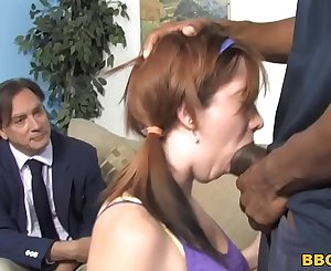 Ivy Rider Screams In Pain As Big black cock Stretches Her Pussy
