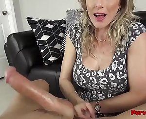 Gorgeous Step Mother Family Blowjob For Son