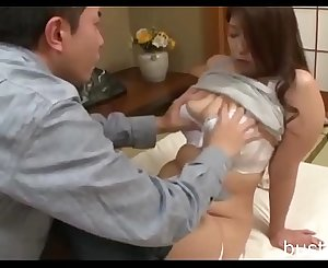 Chubby Japanese Mom - Visit bustxxx.net for more knockers flick