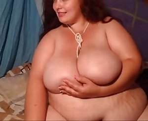 BBW Slut Goes Crazy With Sex Show - SuperJizzCams.com
