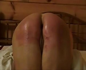 spanked mature at home